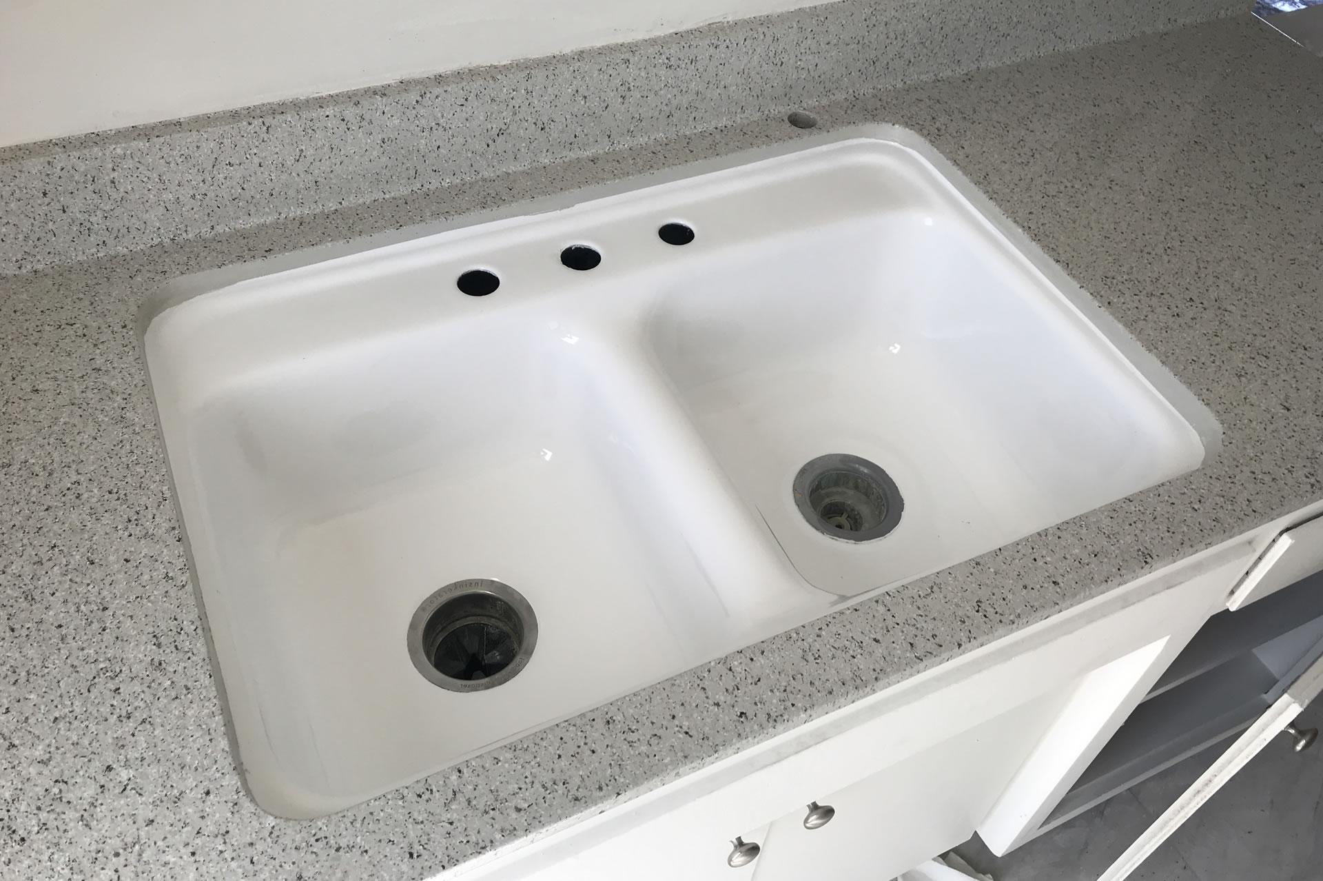 sink reglazing