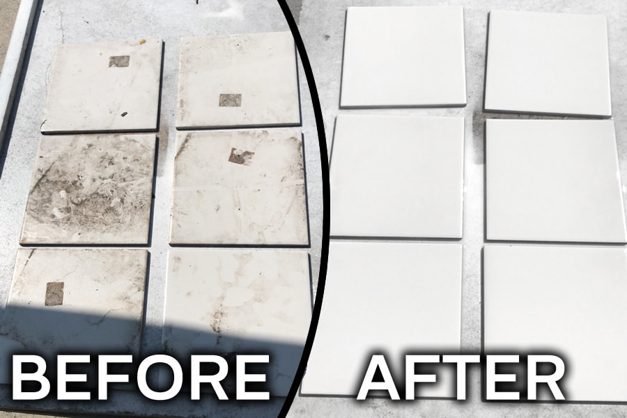tile refinish before and after